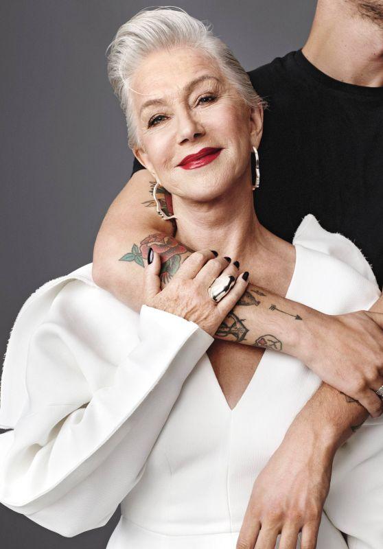 Helen Mirren - Allure Magazine Cover and Photos, September 2017