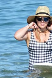Hilary Duff in a Swimsuit - Beach in Hawaii 08/02/2017