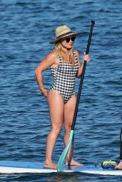 Hilary Duff in a Swimsuit - Beach in Hawaii 08/02/2017
