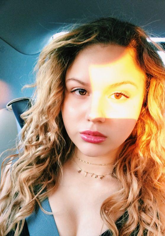 Isabella Acres – Social Media Pics, August 2017