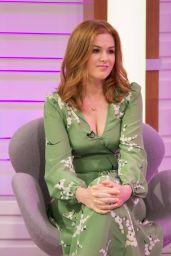 "Isla Fisher - ""Good Morning Britain"" TV Show in London, UK 08/21/2017"