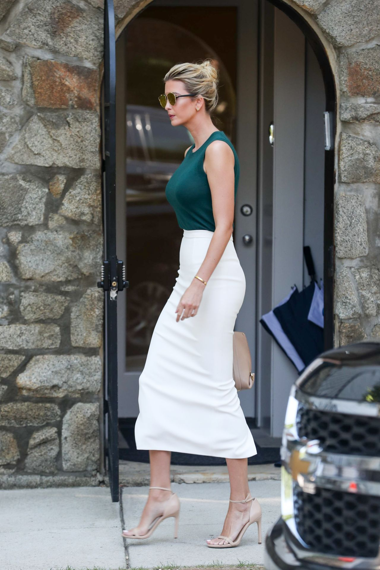 Ivanka Trump Heads To Work In Washington D C 08 01 2017