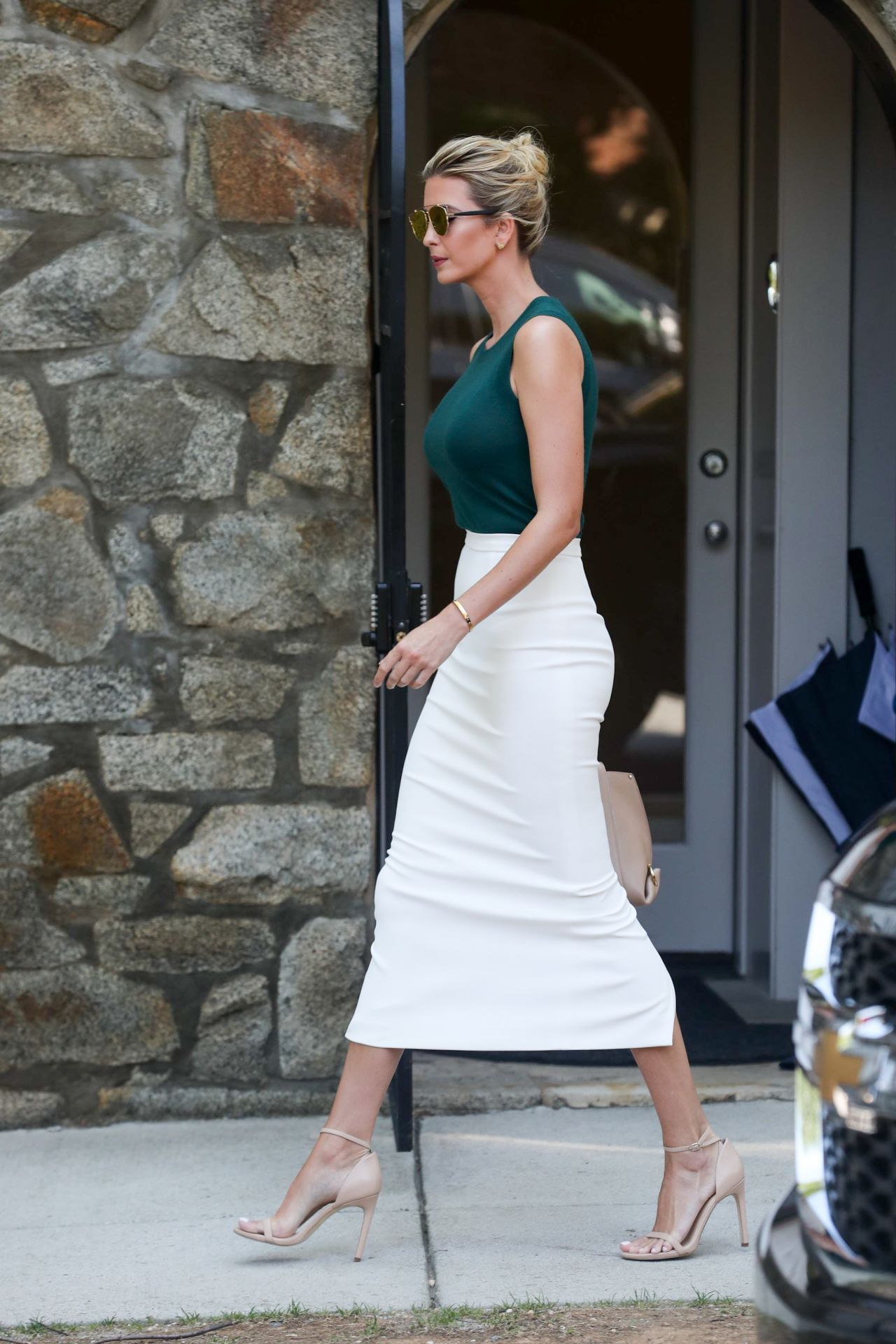 Ivanka Trump Heads To Work In Washington D C 08 01 2017