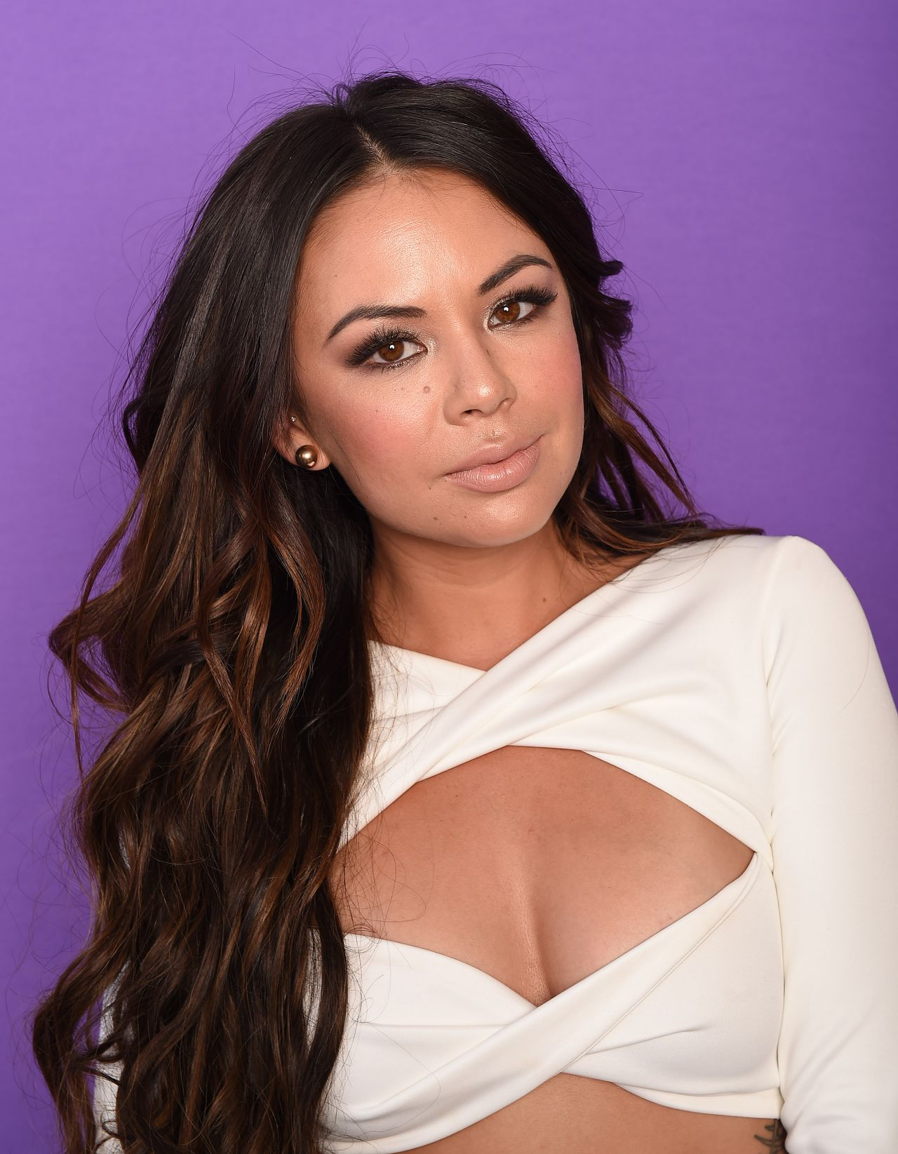 Janel Parrish Tca Portraits At The Galen Center In Los
