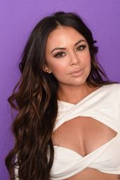 Janel Parrish – TCA Portraits at the Galen Center in Los Angeles 08/13/2017