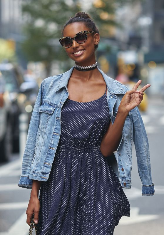 Jasmine Tookes – Victoria's Secret Fashion Show Casting in NYC 08/21/2017