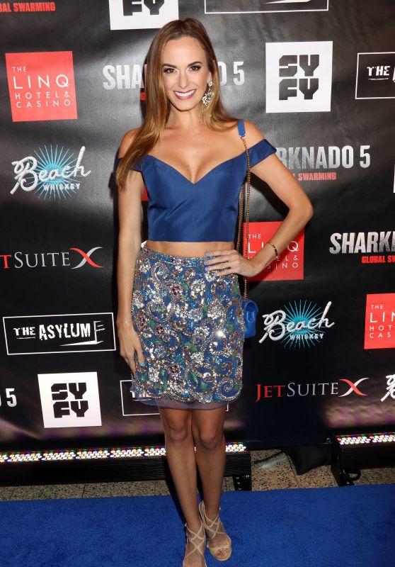 "Jena Sims – ""Sharknado 5: Global Swarming"" Premiere in Las Vegas 08/06/2017"