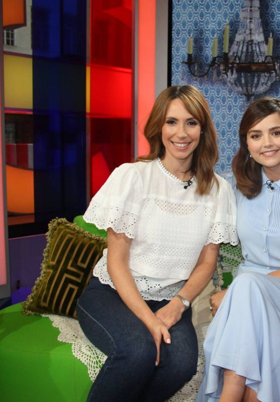 Jenna-Louise Coleman - The One Show in London, UK 08/24/2017