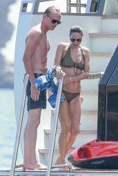 Jennifer Connelly in Bikini on a Boat in Ibiza 08/17/2017