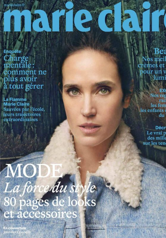 Jennifer Connelly - Marie Claire Magazine France October 2017 Issue