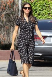 Jennifer Garner at Church in Pacific Palisades 08/27/2017