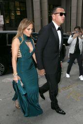 Jennifer Lopez and Alex Rodriguez - Heading Into Friends Wedding in NYC 08/06/2017