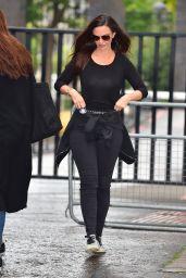 Jennifer Metcalfe Street Style - Outside ITV Studios in London 08/17/2017