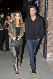 Jessica Alba and Cash Warren - Enjoying Date Night at the Highlight Room in Hollywood