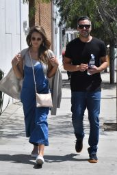 Jessica Alba and Cash Warren - Out in Los Angeles 08/20/2017
