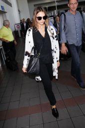 Jessica Alba at LAX 08/30/2017
