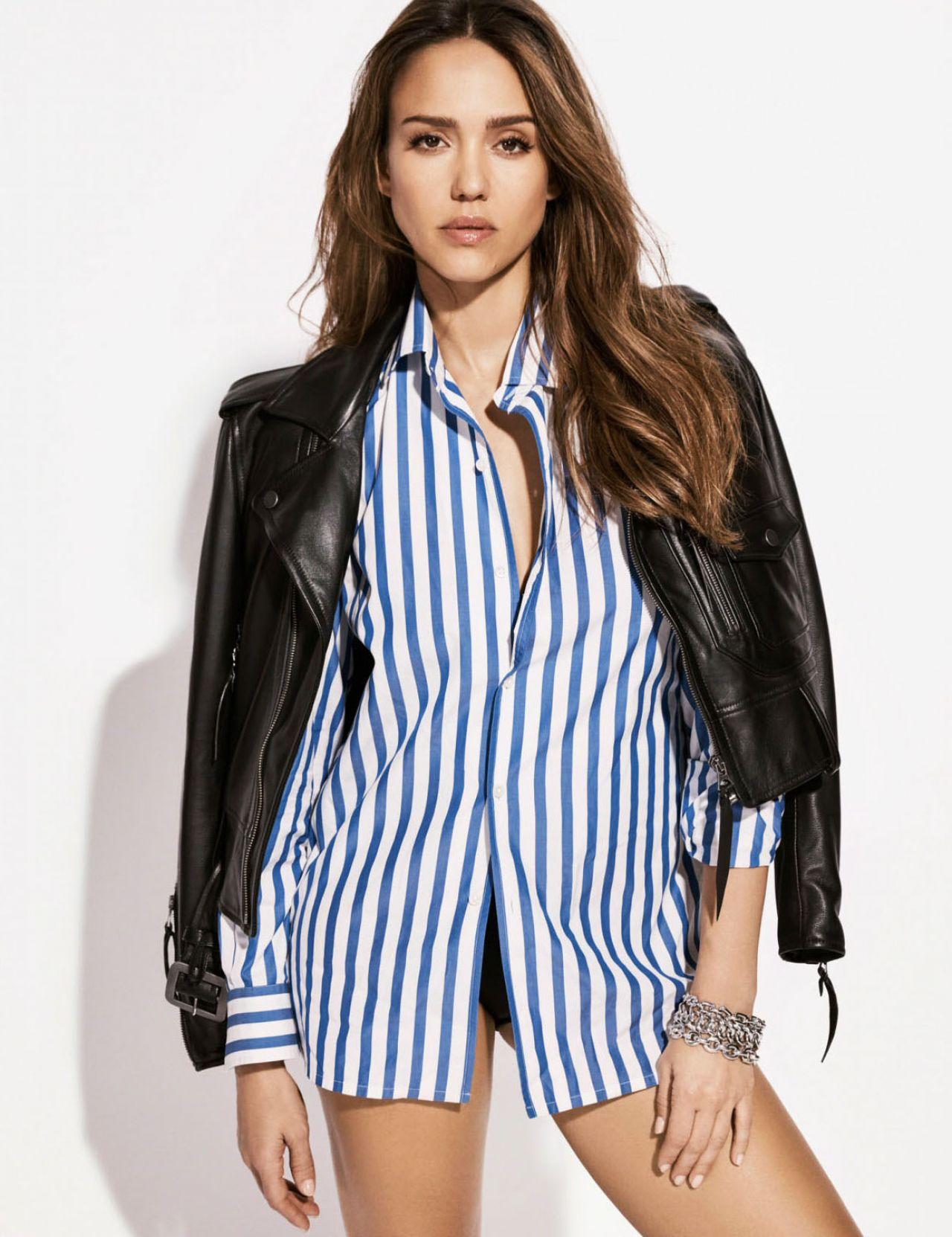 Jessica Alba - Cosmopolitan Magazine UK September 2017 Issue