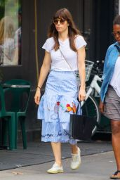 Jessica Biel Casual Style - Out in Soho, NY 08/12/2017