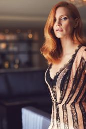 Jessica Chastain - Photoshoot for American Way 2017