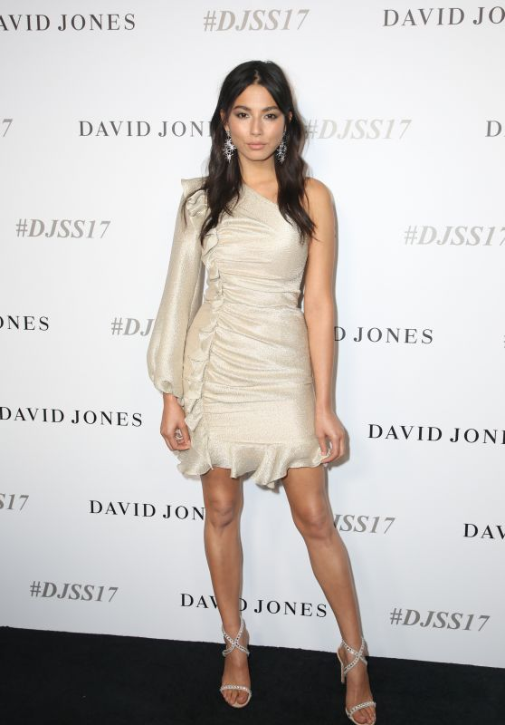 Jessica Gomes – David Jones Fashion Show in Sydney, Australia 08/09/2017