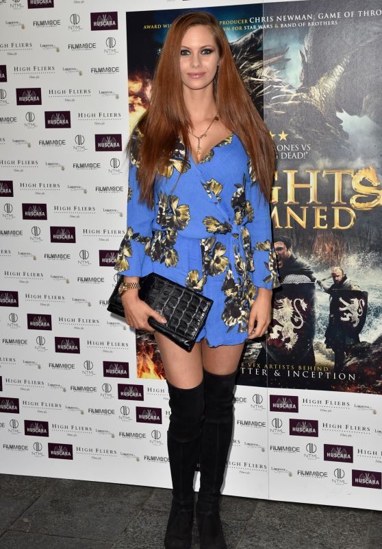 "Jessica Jane Stafford – ""Knights of the Damned"" Premiere in London, UK 08/02/2017"