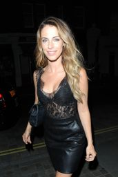 Jessica Lowndes and Laura McNulty Night Out - Chiltern Firehouse in London 08/18/2017