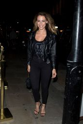 Jessica Lowndes - Arriving at Bunga Bunga in Covent Garden in London 08/17/2017