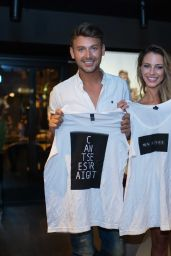 """Jessica Lowndes - """"I Saw It First Love Fights"""" Launch in Ibiza 08/24/2017"""