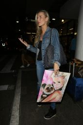 Joanna Krupa at LAX Airport in Los Angeles 08/20/2017