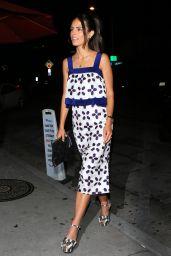 Jordana Brewster - Arrives for a Dinner Date With Husband at Craig