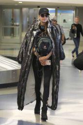 Josephine Skriver and Jasmine Tookes - LAX Airport in LA 08/31/2017