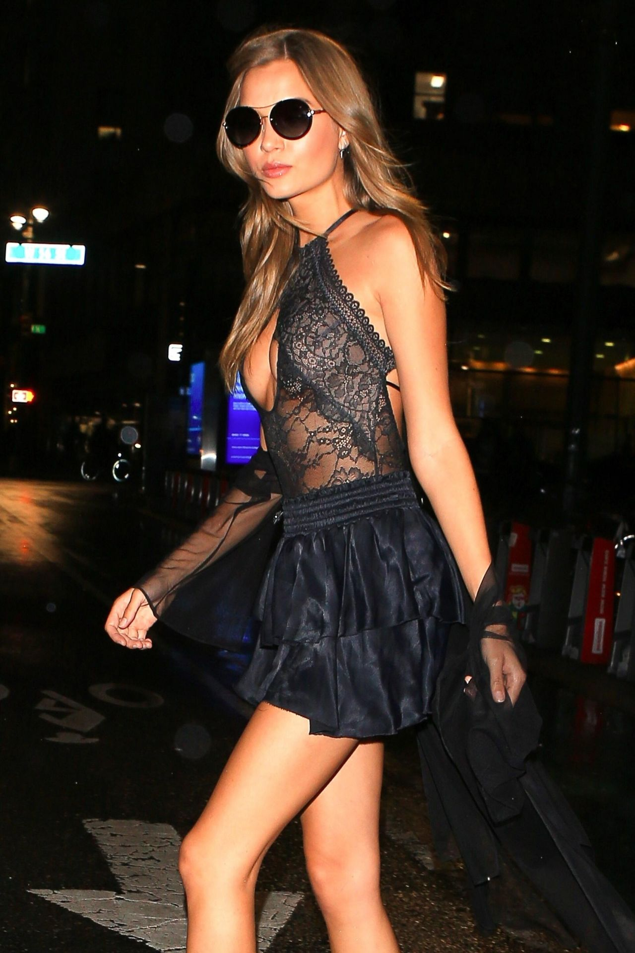 Josephine Skriver Outside The Victorias Secret Fashion Show Fittings In NYC 08282017