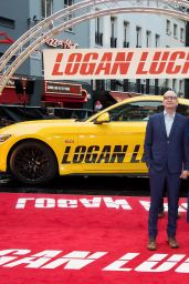 "Jules Asner – ""Logan Lucky"" Premiere in London"