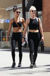 Julianne Hough - Hits the Gym in Los Angeles  08/20/2017