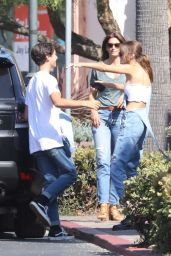 Kaia Gerber and Her Mom Cindy Crawford - Out in Malibu 08/14/2017