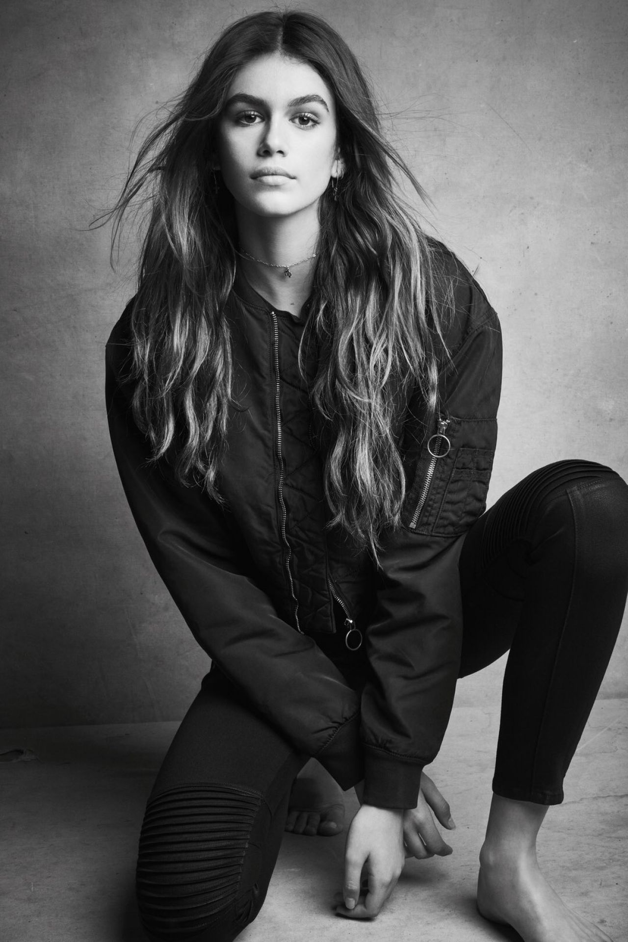 Kaia Gerber Is Still Happening At The British Fashion Awards: Hudson Jeans Fall 2017 Campaign