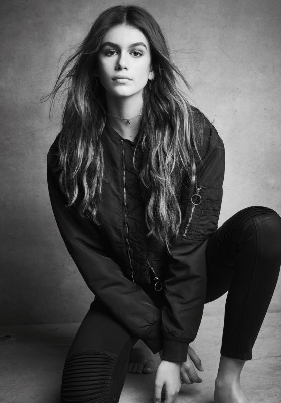 Kaia Gerber - Hudson Jeans Fall 2017 Campaign
