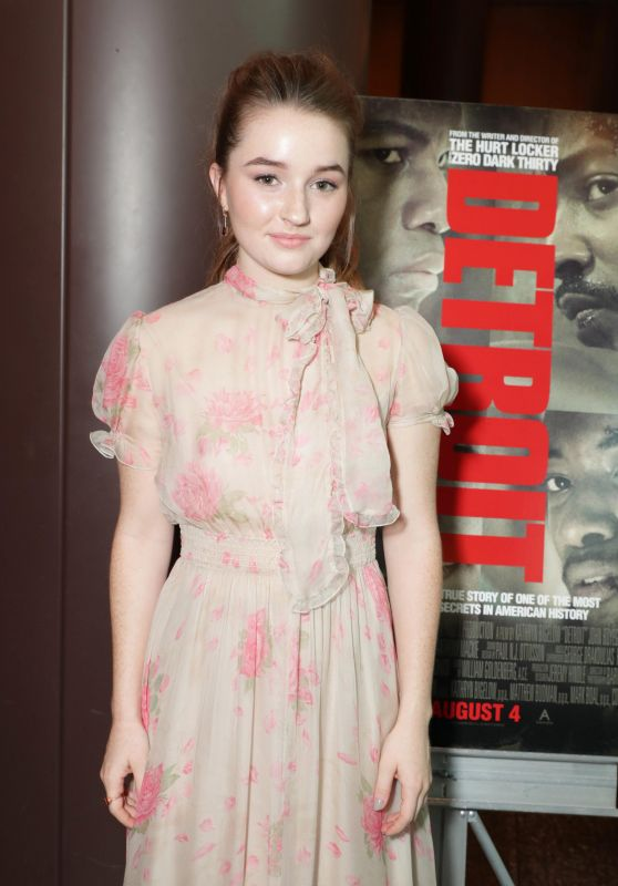 "Kaitlyn Dever - ""Detroit"" Special Screening in Los Angeles 08/03/2017"