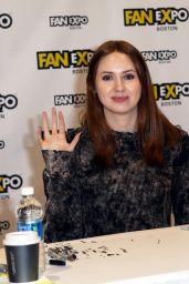 Karen Gillan – Comic-Con in Boston 08/12/2017