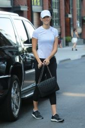 Karlie Kloss in Workout Gear in NYC 08/25/2017