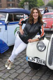 Katarina Witt – Berlin Klassik Auto Rally, Start in Hamburg 08/24/2017