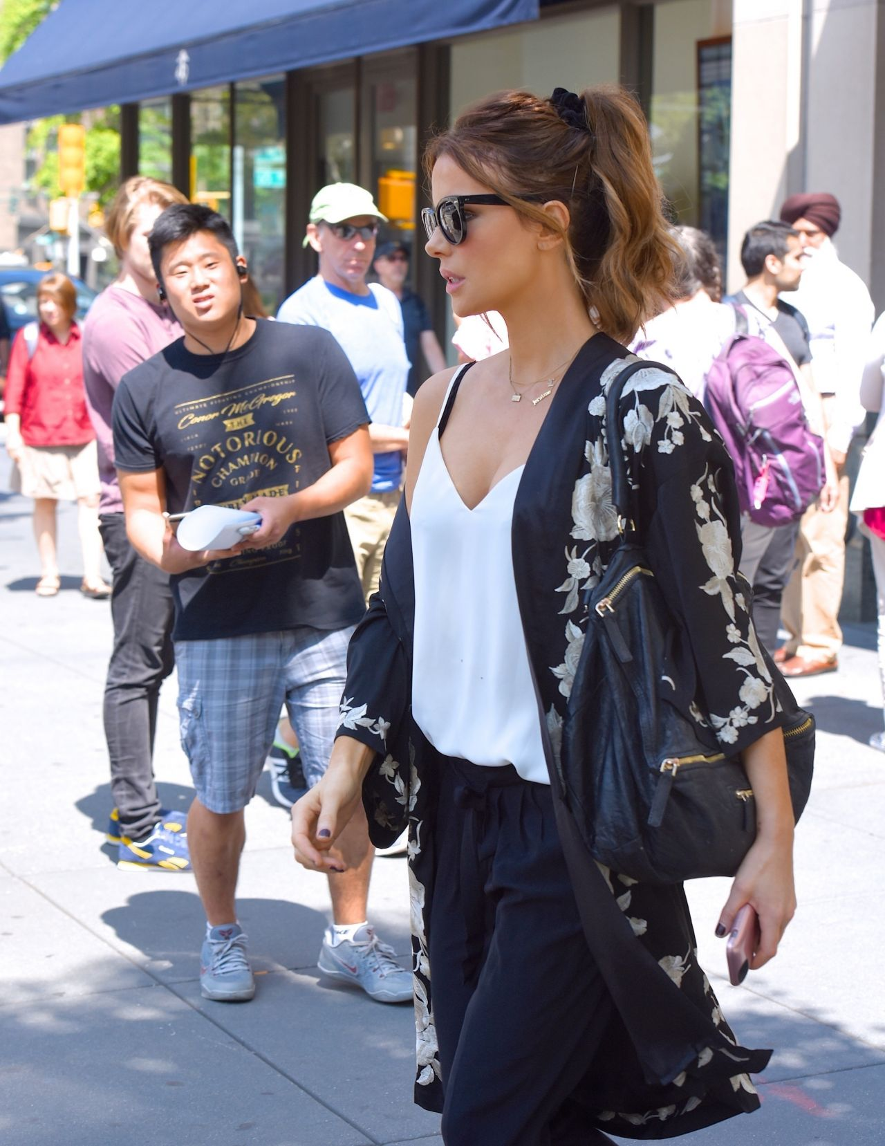 Kate Beckinsale and her daughter Lily Mo Sheen, at The