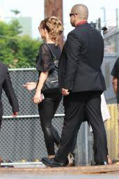 Kate Beckinsale - Arriving to Appear on Jimmy Kimmel Studio 08/01/2017