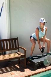 Kate Upton Workout, August 2017