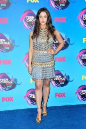Katherine Langford – Teen Choice Awards in Los Angeles 08/13/2017