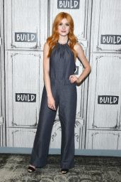 Katherine McNamara - Inside BUILD Studios in NYC 08/14/2017