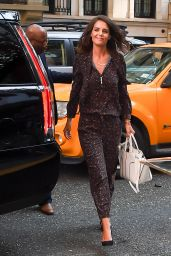 "Katie Holmes - Leaving ""Today"" Show in New York 08/16/2017"