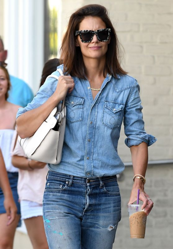 Katie Holmes - Shopping in Beverly Hills 08/03/2017