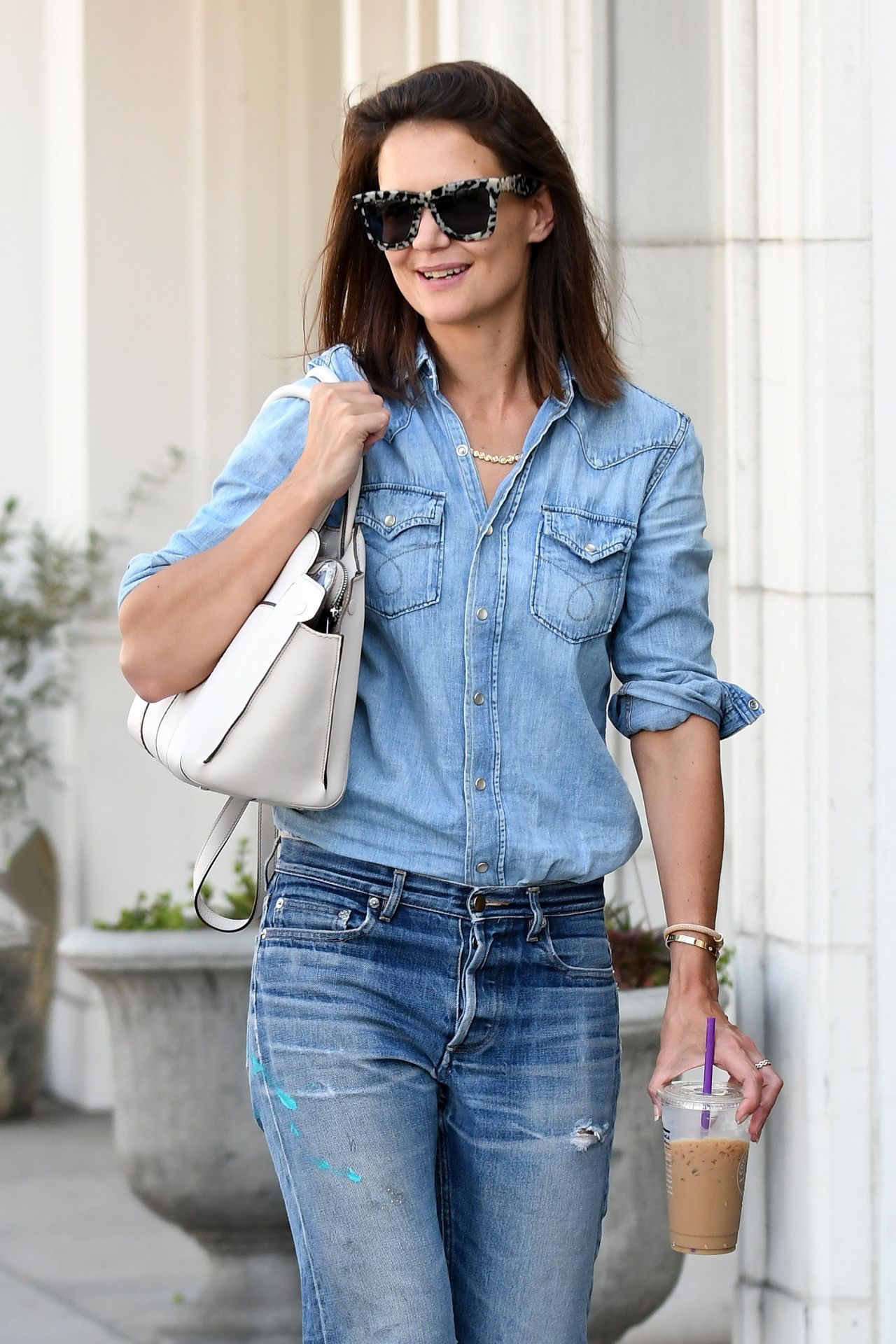 Katie Holmes - Shopping in Beverly Hills 08/03/2017 Katie Holmes