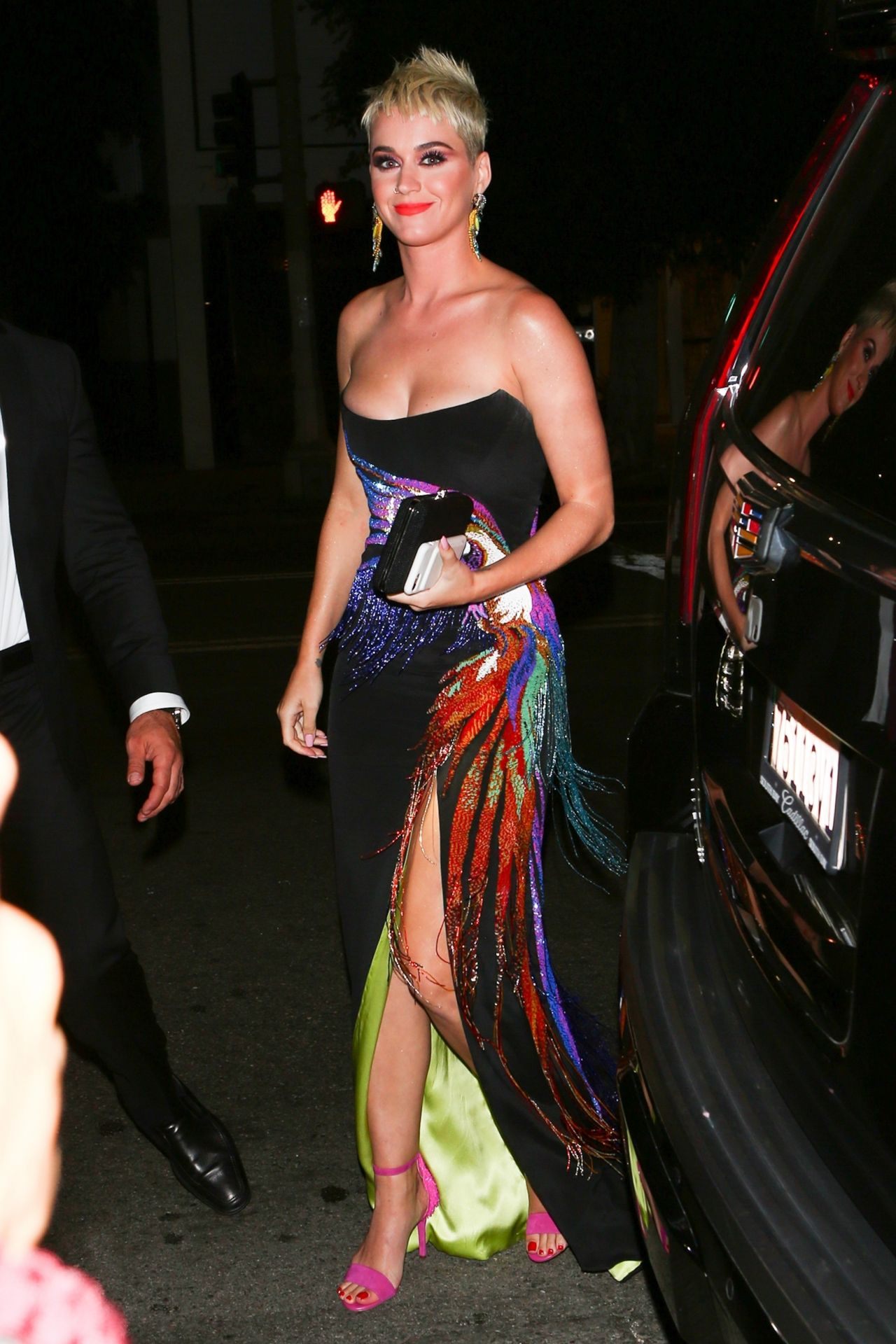 b57371740e9 Katy Perry - UGG x Jeremy Scott Collaboration Launch Event in West ...